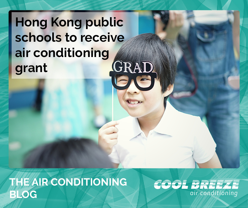 CoolBreeze air conditioning schools