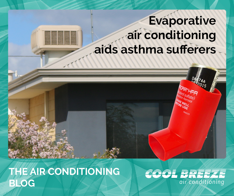 evaporative air conditioning asthma