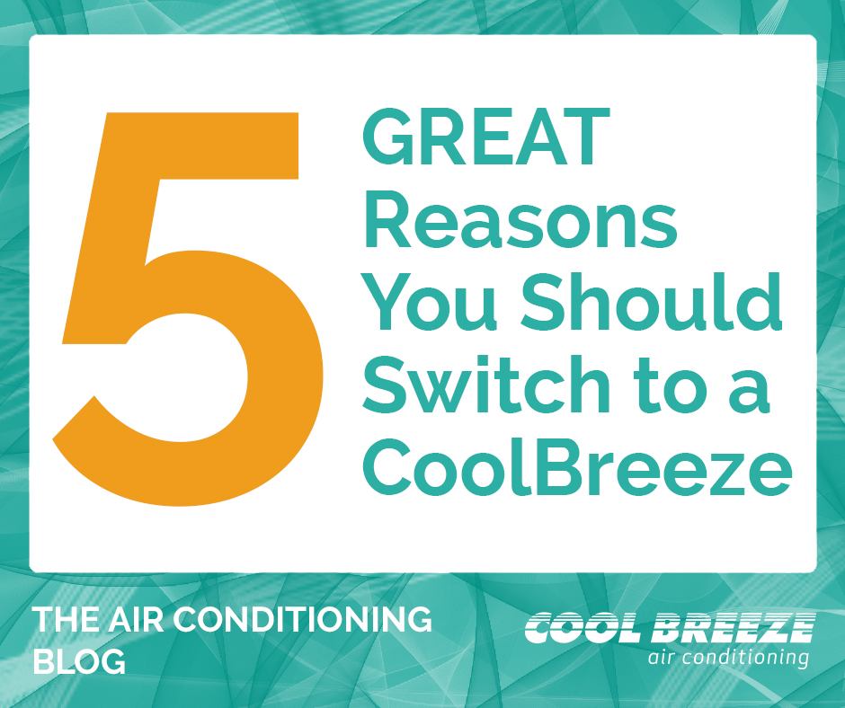 CoolBreeze air conditioner