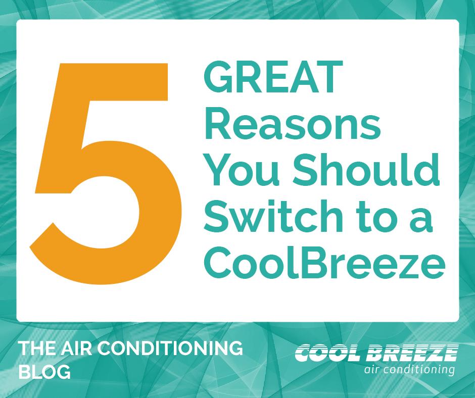 CoolBreeze air conditioner