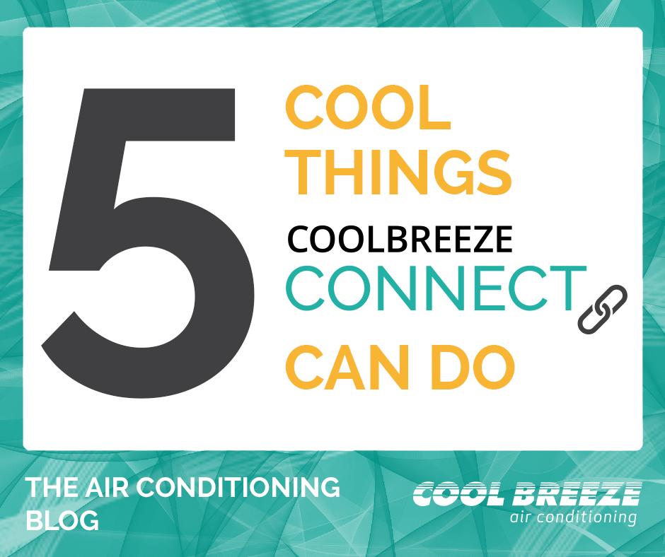 CoolBreeze connect evaporative air con